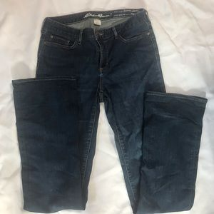 Eddie Bauer Bootcut Jean. Size 10 Long